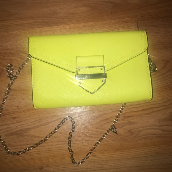 75768cfd4 Aldo Bags | Lime Green Clutch Shoulder Bag | Poshmark